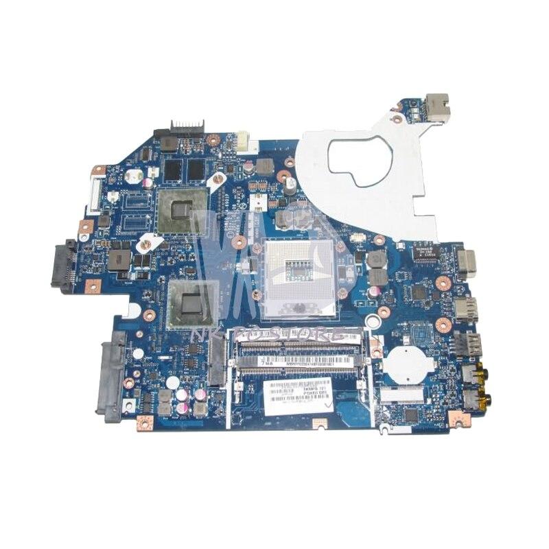 NOKOTION For Acer aspire 5750 5750G NV57 Laptop Motherboard MBRFF02004 P5WE0 LA 6901P HM65 DDR3 GT520M Video card