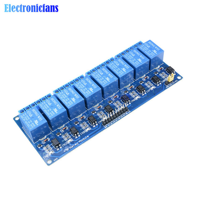 5v 8 channel relay module board for arduino optocoupler 8 channel Arduino 8 Relay Module arduino 8 channel relay wiring diagram