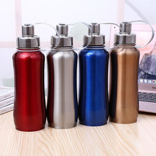 лучшая цена Brand New 500ml Thermal Cup 304 Stainless Steel  Vacuum Flask Portable Water Bottle Thermos Bottle