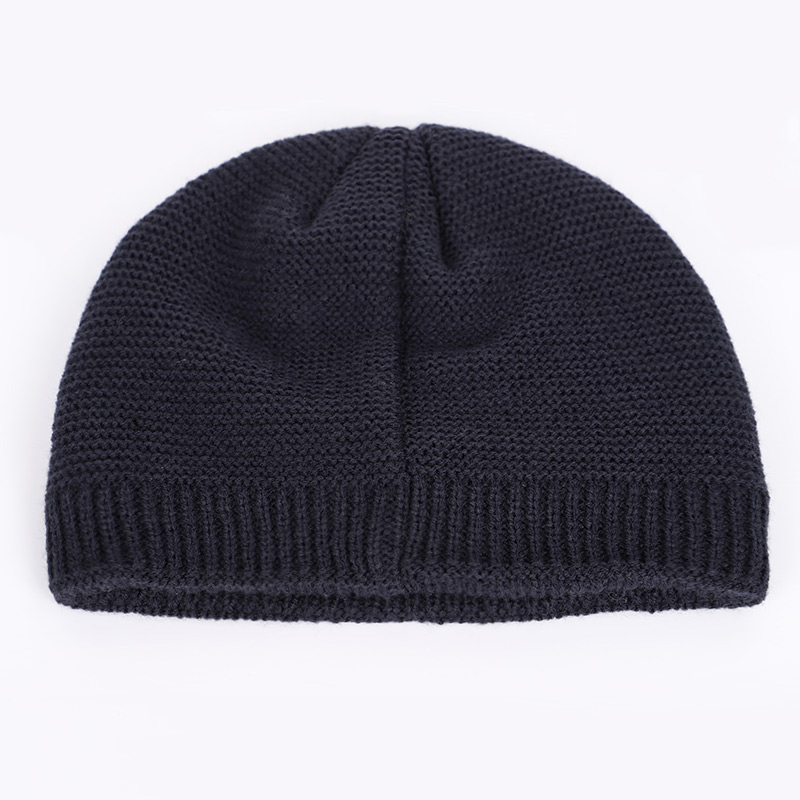 New winter knit hats men's and women's outdoor warm thickening plus velvet loose winter caps Skullies brand winter ski male bone 2