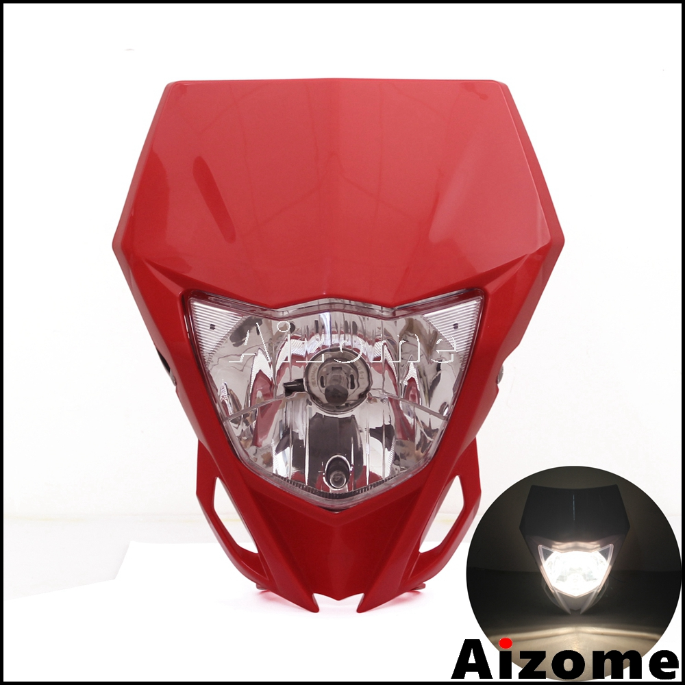 Universal Headlight Fairing Lamp For Streetfighter Dirt