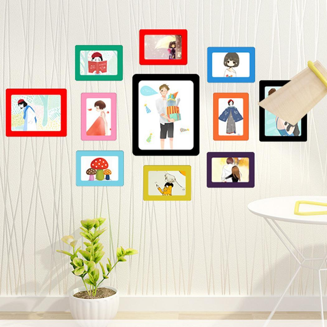 Aliexpress.com : Buy Black Red Blue Photo Picture Frames Rectangle ...