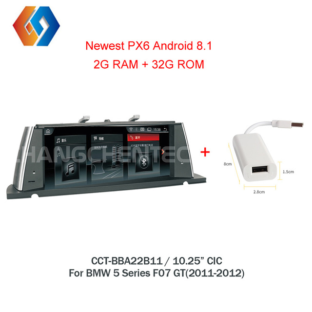 Android 8.1 Multimedia For BMW 5 Series F07 GT(2011-2012) CIC IPS Touch Screen Car Radio GPS Navigation Stereo Bluetooth Unit 11