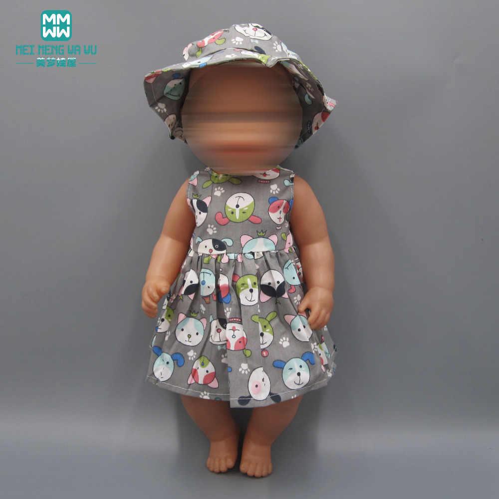 Детская Одежда для куклы подходит 43 см игрушка Новорожденные куклы аксессуары и американская кукла белое платье принцессы