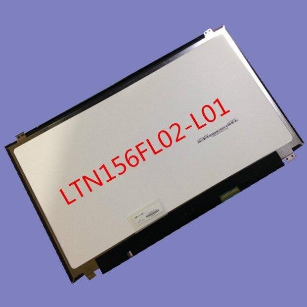 """Высокое качество 15.6 """"3840x2160 Ноутбук жк-дисплей Для Lenovo Y50-70 4 К LTN156FL02-L01 ЖК-экран замена ремонт panle fix части"""