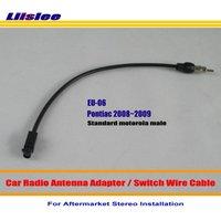 For Pontiac G8 2008 2009 Car Radio Antenna Adapter Aftermarket Stereo Antenna Wire Standard Motorola Male
