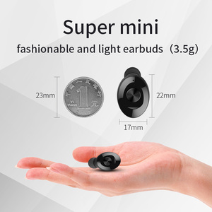 Image 5 - XG12 TWS Mini Bluetooth 5.0 Earphone Stereo Bass Earbuds Portable Wireless Earphones With charging box for Huawei iPhone Samsung