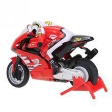 RC мотоциклетные Игрушечные лошадки Дистанционное управление Мини RC мотоцикла очень классная игрушка stunt car для Детский подарок