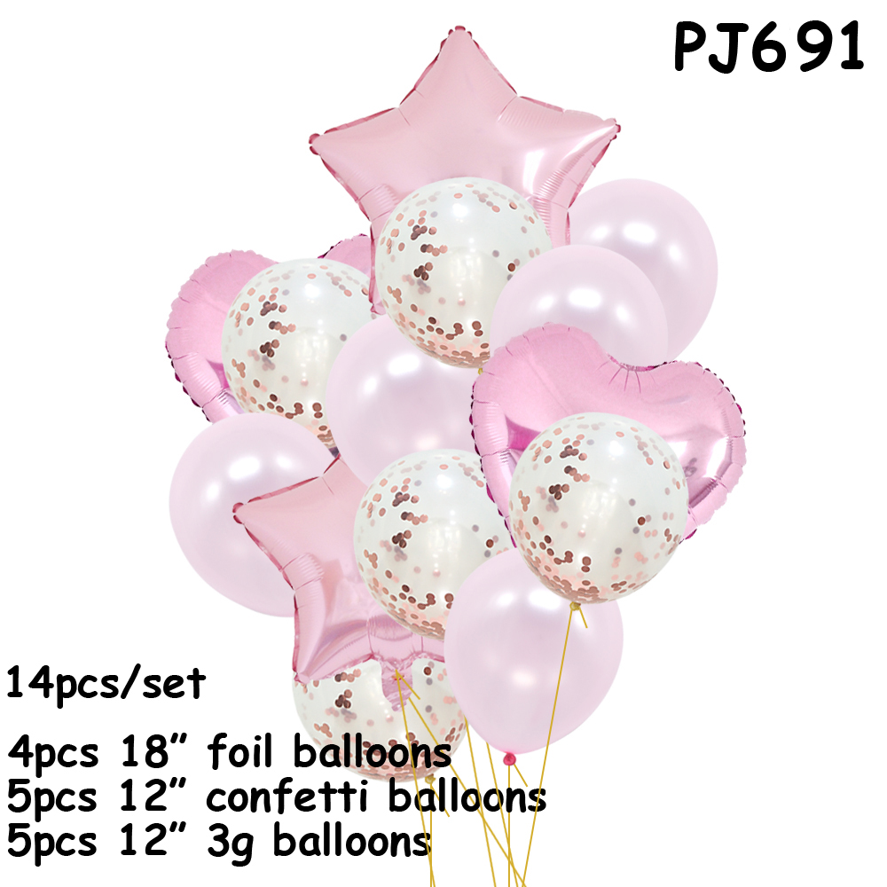 kid birthday party decoraciones confetti balloons <font><b>1</b></font> birthday decor party balloons Birthday party decorations babies <font><b>ballon</b></font> image