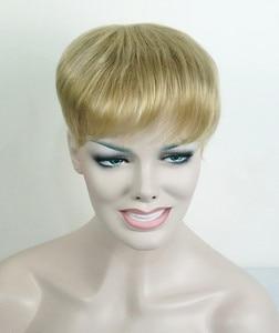 Image 2 - יופי חזקות נשירת שיער פיאות שיער סינטטי פאת פאה פאות למעלה חתיכה 36 צבעים לבחירה