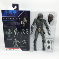 In Stock 26cm Original NECA The Predator Armored Assassin PVC Action Figure Collectible Model Toy Christmas Gift