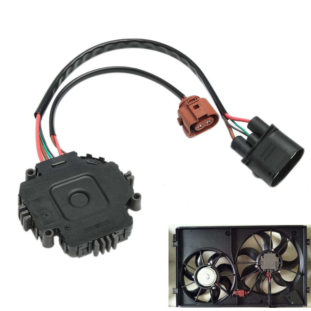New Cooling Fan Control Module Unit For Audi A3 Tt Vw Gti