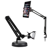 Metal Lazy Table Bed Stand Mobile Phone Tablet PC Foldable Holder Stand For Mobile Phone iPad/ipad Tablet PC Holder