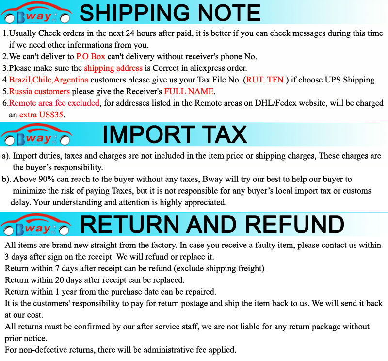 shipping note 1