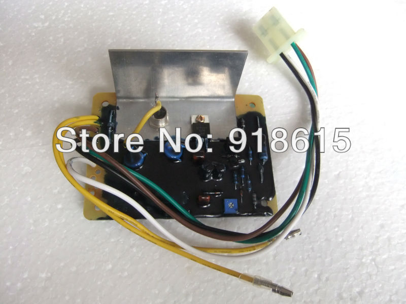 FREE SHIPPING AVR automatic voltage regulator,fit robin RGV7500 generator, replacement part. 50 60hz automatic voltage regulator for kutai brushless generator avr ea16 free shipping