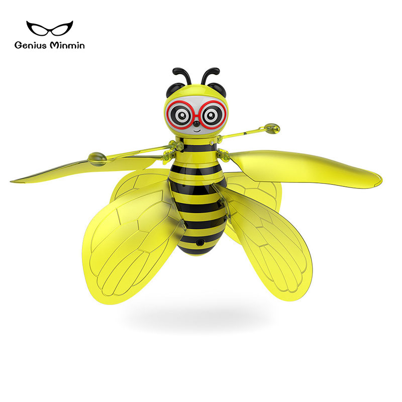 Image 2 - Hot sale mini aircraft small bee induction flight gesture induction drone helicopter infrared induction aircraft new strange toy-in RC Helicopters from Toys & Hobbies
