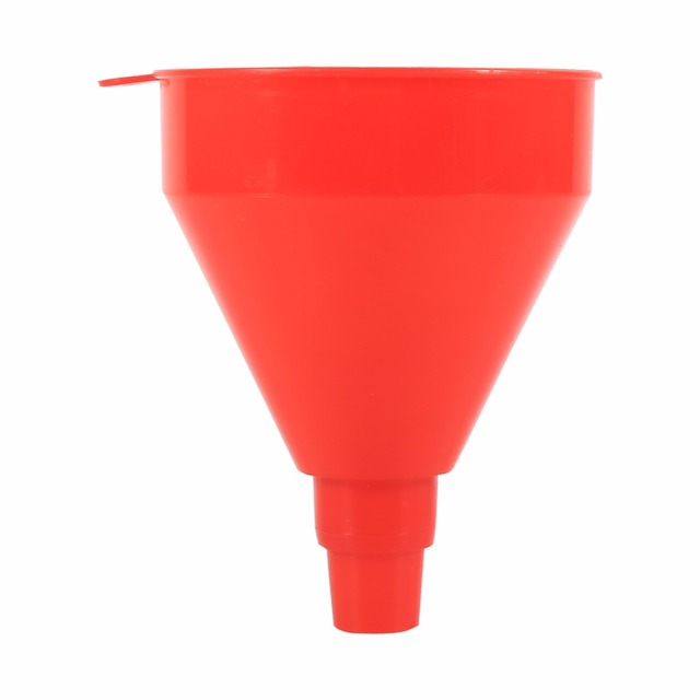Universal Car Motorcycle Truck Vehicle Plastic Filling Funnel with Soft Pipe Spout Pour Oil Tool Petrol Diesel Car Styling