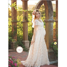 BABY BALL Plus Size 4XL Summer Lace Pregnancy Women dress. US  15.58    piece Free Shipping 22f02177866a