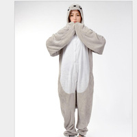 New Fashion Women S Animal Pattern Cosplay Costumes Full Sleeve Polyester Sleep Lounge Onesies Animal Pajamas