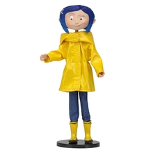 Coraline & the Secret Door Coraline y la Puerta Secreta Raincoat Action figure Toys Doll For Baby Kids Gifts asus vg248qe