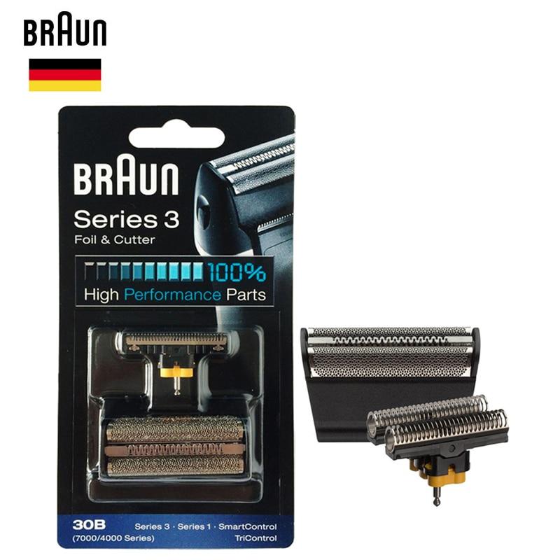Braun 30B Фольга и резак части высокой производительности для серии 7000/4000 бритвы (старый 310 330 340 4775 4835 4875 5746 7630)