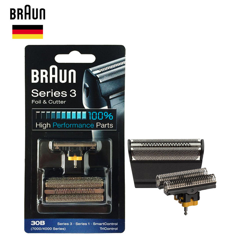 Braun 30B Foil& Cutter high performance parts for 7000/4000 Series Shavers Razor (Old 310 330 340 , 4775 4835 4875 5746 7630)-in Razor from Beauty & Health    1