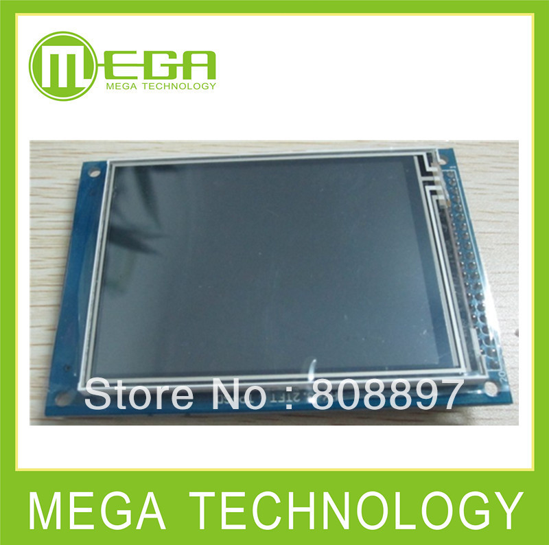 New 3.2 Inch TFT LCD  Module + Touch Penel + Color Panel +  Drive IC : ILI9341  LCD 320x240 Touch LCD Screen  ( 3.2inch LCD )