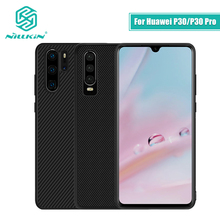 Nillkin Nylon & Synthetic fiber Carbon PP Plastic Back Cover for Huawei P30 case 6.1 For Huawei P30 Pro Case 6.2 thin slim