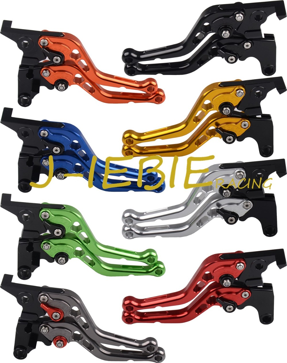 For Ducati 1098/S/Tricolor 2007-2008 1198/S/R 2009-2011 848/EVO 2007-2013 157 New CNC Adjuster Brake Clutch Levers