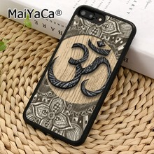 MaiYaCa ดอกไม้ OM YOGA ฮินดู AUM OM yaga สำหรับ iPhone 11 Pro 5 6 S 7 8 XS MAX Samsung Galaxy S6 S7 EDGE S8 S9 PLUS(China)