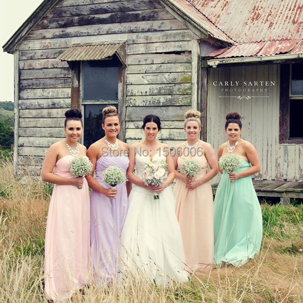 Diffe Color Wedding Dress Best Bridesmaid Dresses