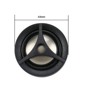 Image 3 - GHXAMP 1 Inch Dome Car Modified Treble Home Speaker Tweeter Titanium Film 4OHM 15W 2PCS