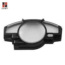 купить ZXMT Motorcycle Speedometer Case For Yamaha YZF R1 2007 2008 ABS Plastic Gauges Cover Instrument Case дешево
