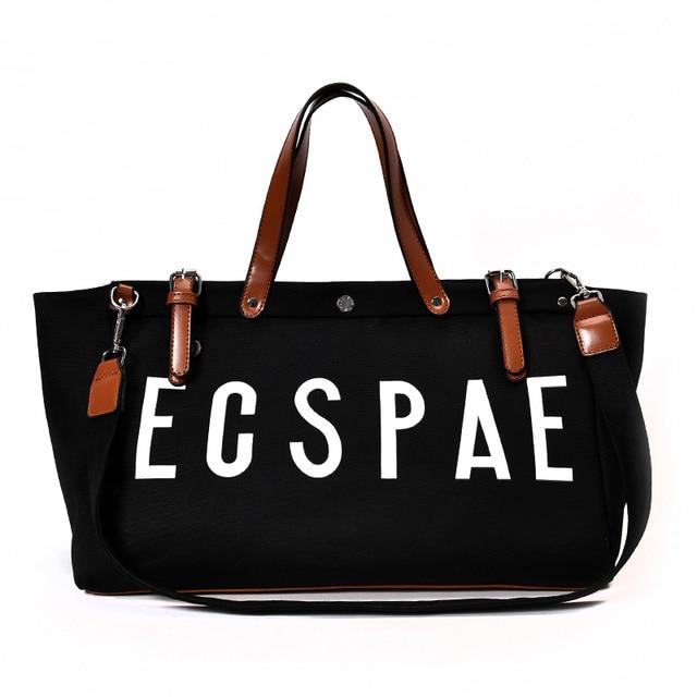f3ed3f0636 Fashion Famous brand Women Handbag Cute Girl Tote Bag Hobos Bag High  Quality Canvas Lady Shoulder