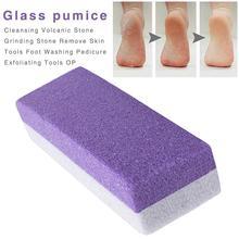 1 шт. Пемза для ног губка блок мозолей для удаления ног скраб для рук маникюрные инструменты для ногтей педикюрное средство по уходу за ногами