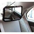 New Ajustável Assento de Carro de Volta do Espelho Bebê Enfrentando Traseira Ala View Monitor de Encosto de cabeça de Montagem Quadrado Espelho da Segurança Do Bebê Crianças