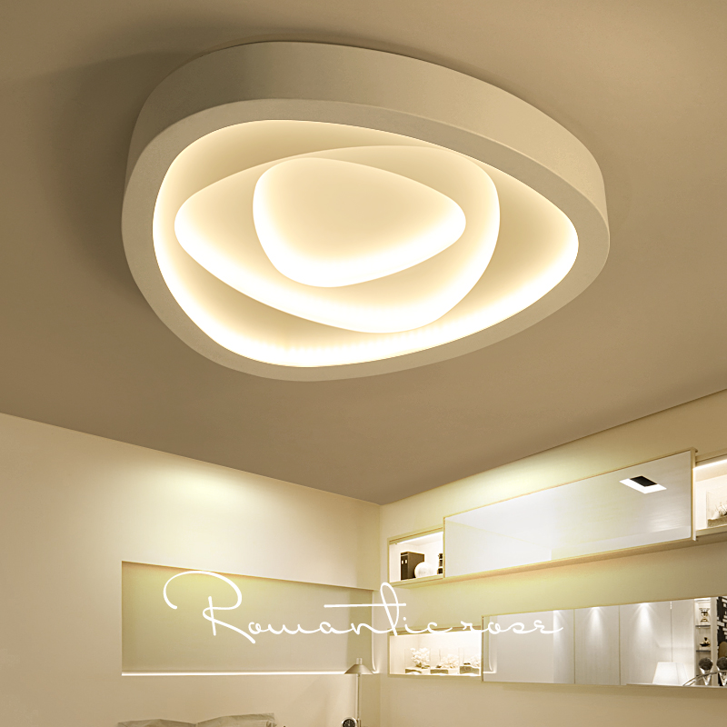 US $195.0 |Kreative kunst schlafzimmer lampe warme romantische moderne  minimalistische atmosphäre wohnzimmer hochzeitszimmer Rose form decke ZA ...