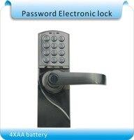DIY Syrd j blokada hasła dostępu straży wejście zamek szyfrowy elektroniczny zamek szyfrowy/drewniana blokada drzwi w Zamki elektryczne od Bezpieczeństwo i ochrona na