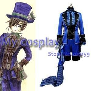 Anime Black Butler Cosplay - Black Butler Kuroshitsuji Cie Women's Party Costume Cosplay Halloween Costume Freeshipping