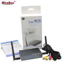 MiraBox 5.8G/2.4G voiture WiFi Mirrorlink Box pour iOS12 et téléphone Android pour YouTube Mirroring/DLNA/Miracast/Airplay sans fil