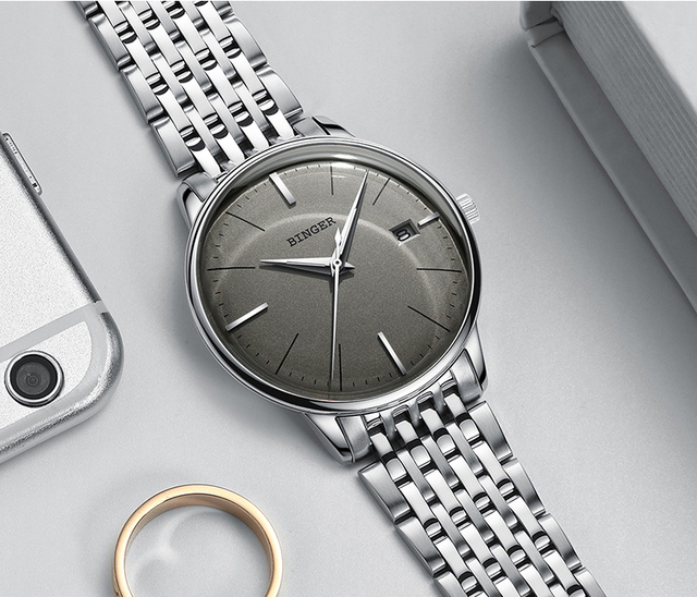 Luxury Mechanical Stainless Steel Watch