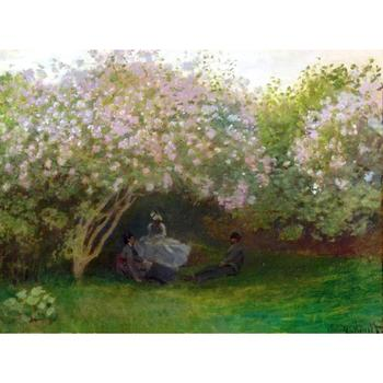 High quality Claude Monet paintings Lilacs, Grey Weather oil on canvas hand-painted Home decor