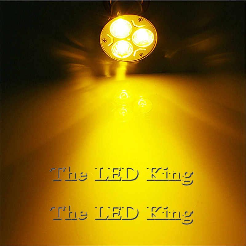 Lumière de lampe de projecteur de LED de puissance élevée MR16 12 V 9 w 12 w 15 w LED ampoule de lampe de projecteur blanc chaud rouge bleu vert GU10 LED