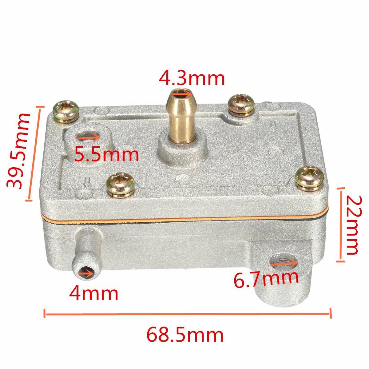 Импульсное вакуумное топливо насос для Mikuni DF44-211 14 л/час один выход