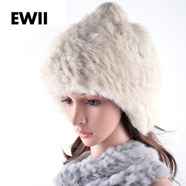 2015 xogue beanies woamn winter cap for girl with ear flaps female rex rabbit fur hat knit hats for woman cap gorros balaclava