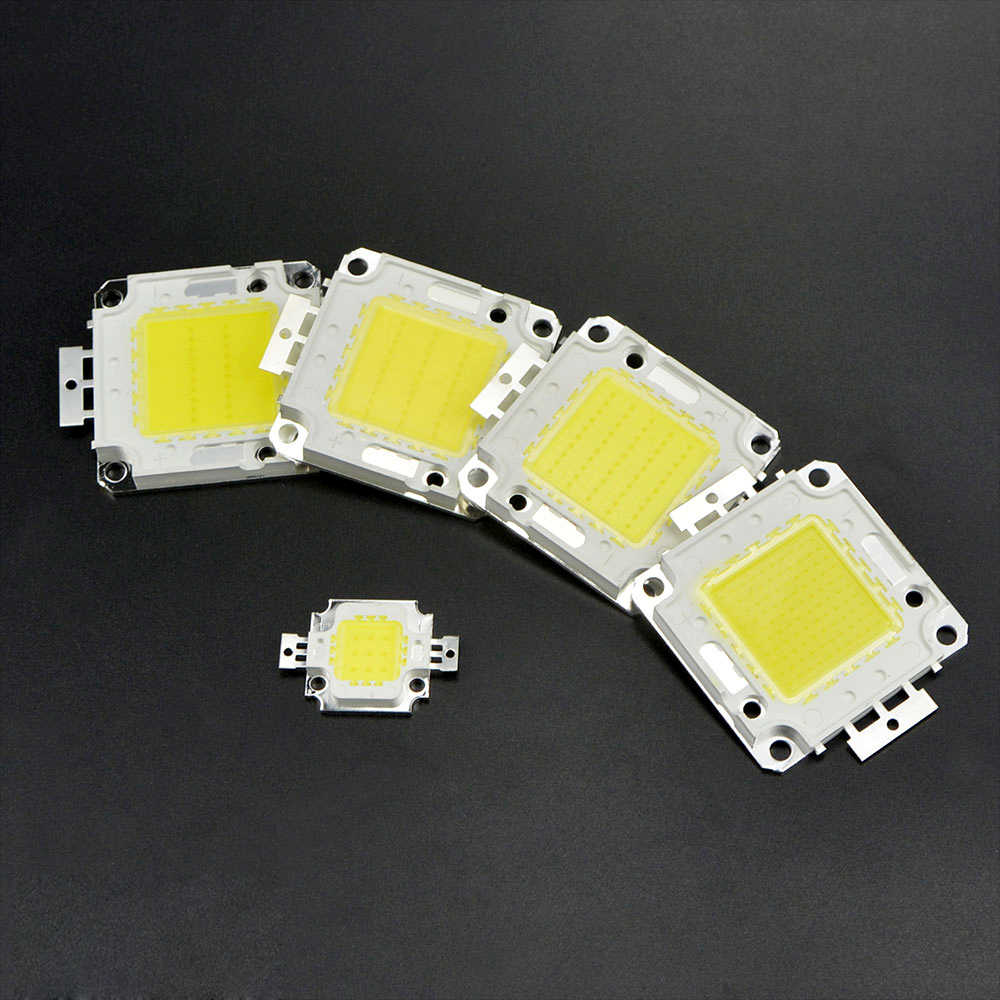 10W 20W 30W 50W 100W LED light DIY led lamp bulb Source LED COB integrated chips LED Flood light  white / warm white