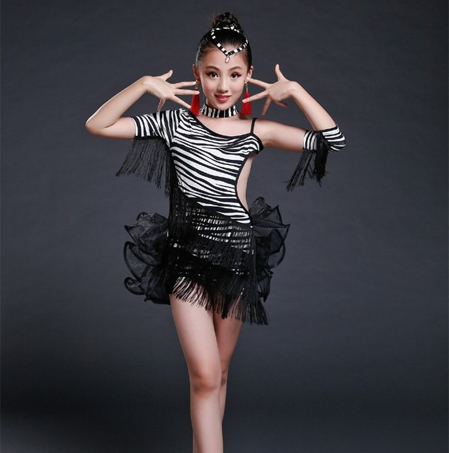 f5a1ae95e1b1 girls latin dance costumes Sexy dancing dress latin dress for girls ...