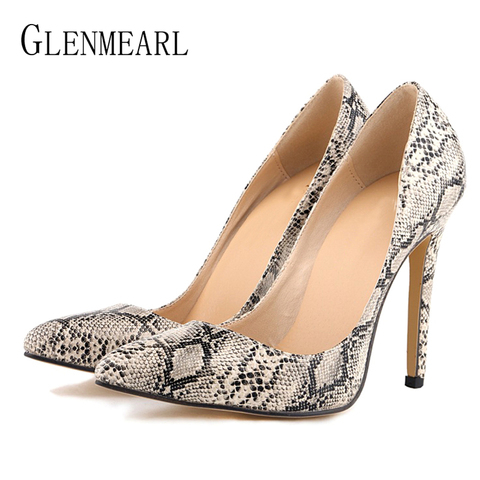 Women Pumps Leopard Shoes High Heels Sexy Pointed Toes Wedding Shoes Woman Stiletto Heel Office Lady Dress Shoes Casual Evening Karachi