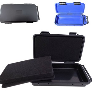 200x100x33mm Outdoor Shockproof Sealed Waterproof Safety Equipment Case ABS Plastic Portable Tool Box Dry Box Outdoor Equipment