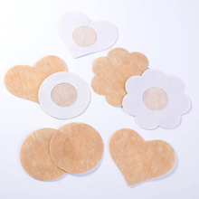10pcs/lot Flower Disposable Breasts Stickers Invisible Nipple Covers Paste Anti Emptied The Chest Paste Bra Prevent dew point